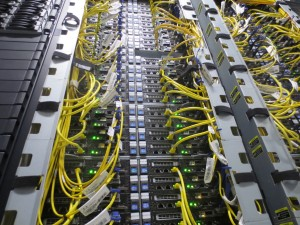 Network wires and backend