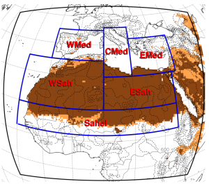 Study of the sensitivity of two dust parametrizations of the regional climate model RegCM4 between 2007-2014 over the Sahara dn the Mediterranean. Atmos. Chem. Phys. Discuss., doi:10.5194/acp-2016-434, 2016