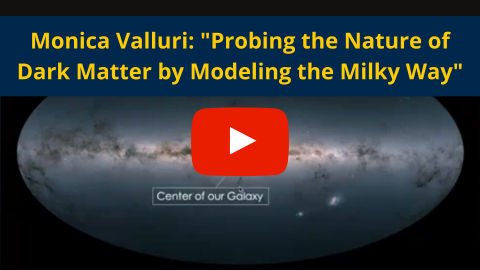 Probing the nature of dark matter by modeling the milky way