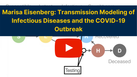 Marisa Eisenberg - Transmission modeling of infectious diseases and the COVID-19 outbreak