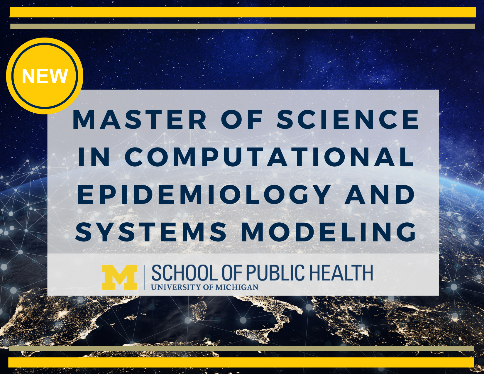 Master of Science in Computational Epidemiology and Systems Modeling